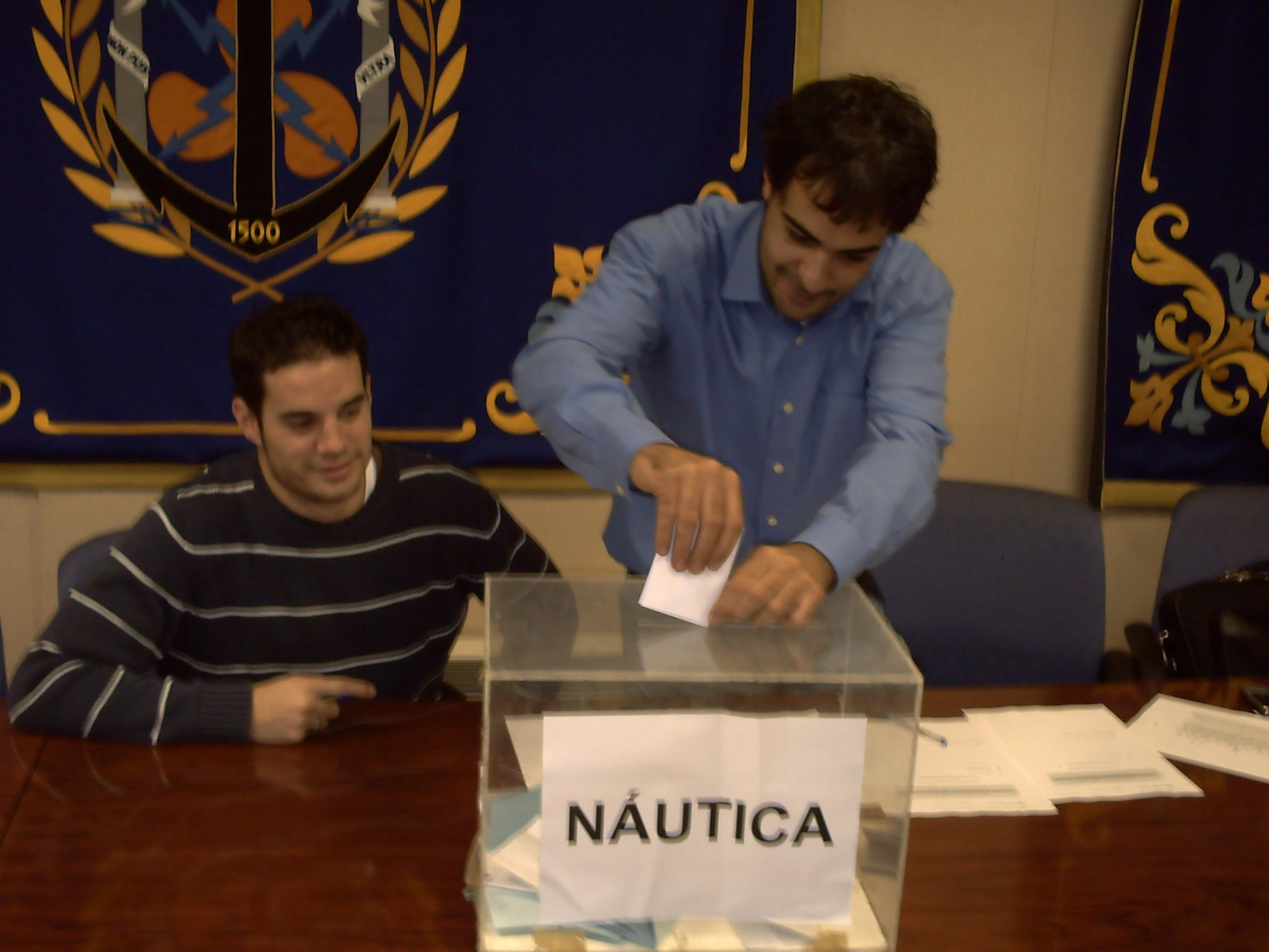 votaciones en náuticas