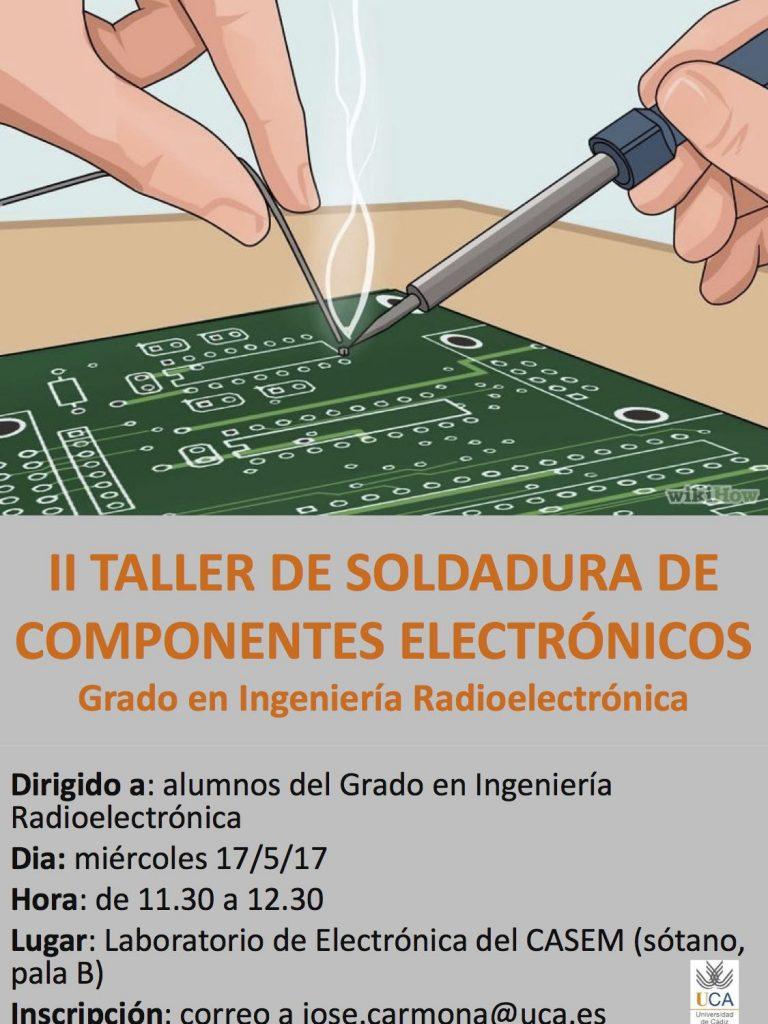 Taller Soldadura para Ingeniería Radioelectroónica