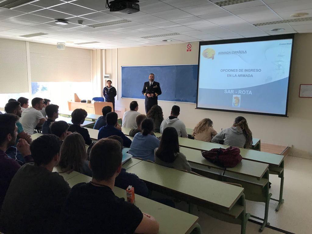 Reunión Informativa Armada Española.