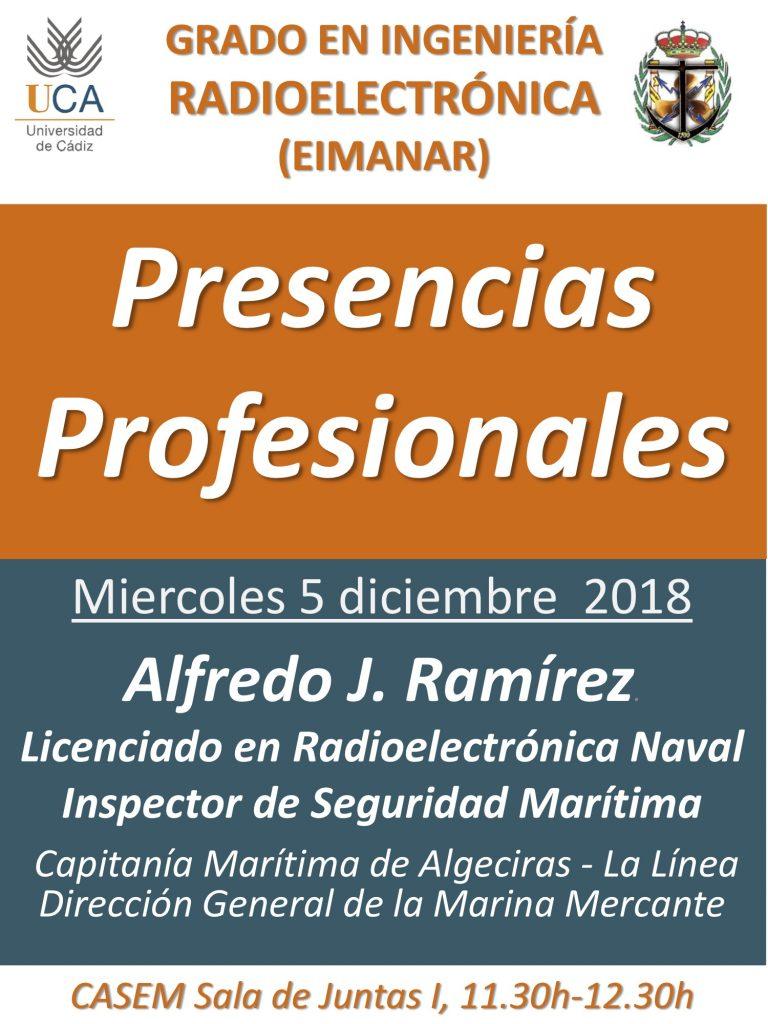 Conferencia Presencias Profesionales